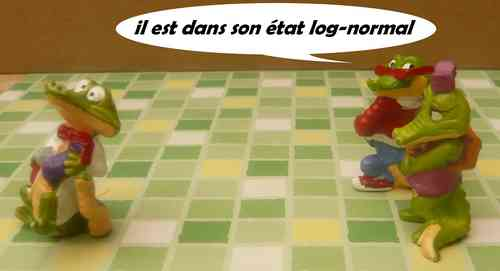 état log-normal